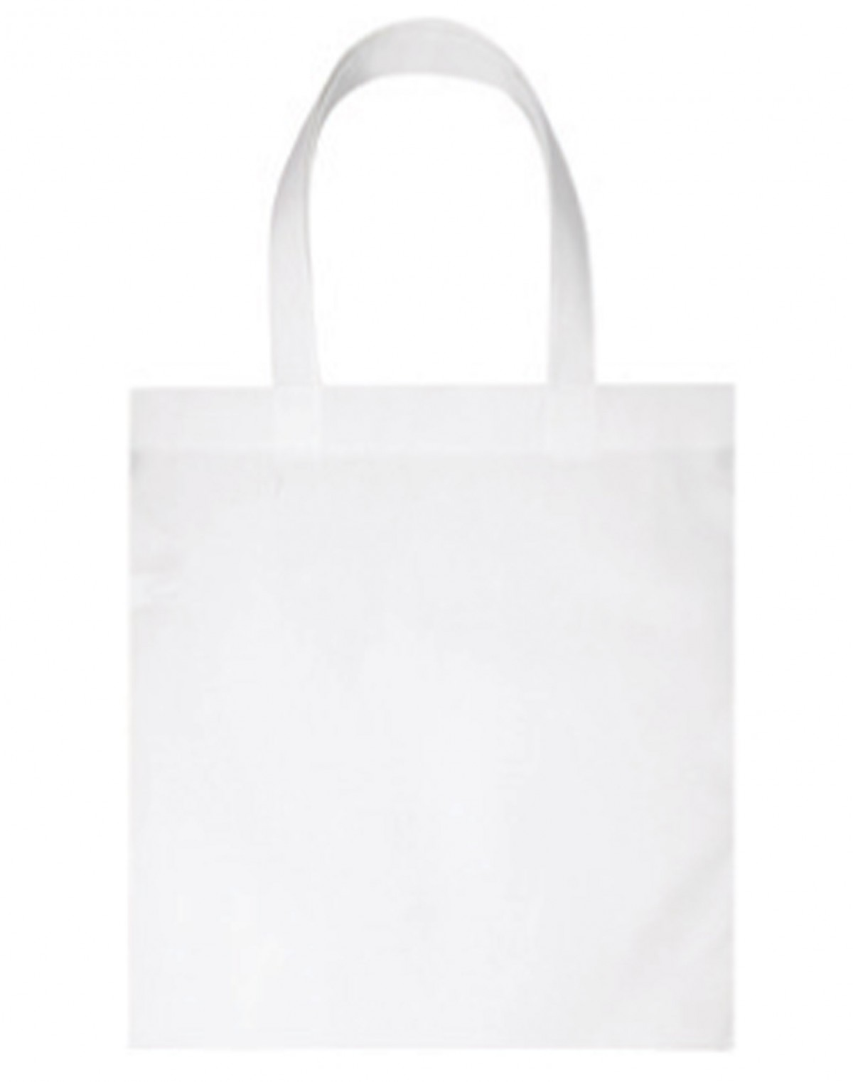 Non woven bag with v shaped gusset