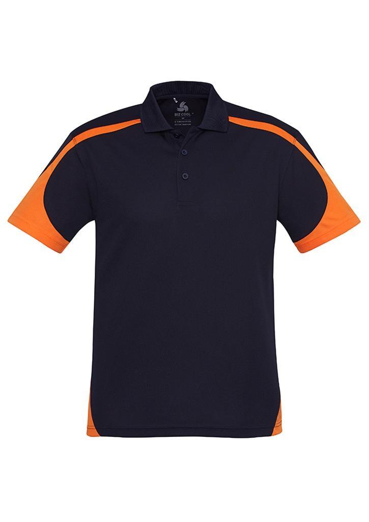 Kids talon polo kids polo shirts our range for Orange polo shirt mens