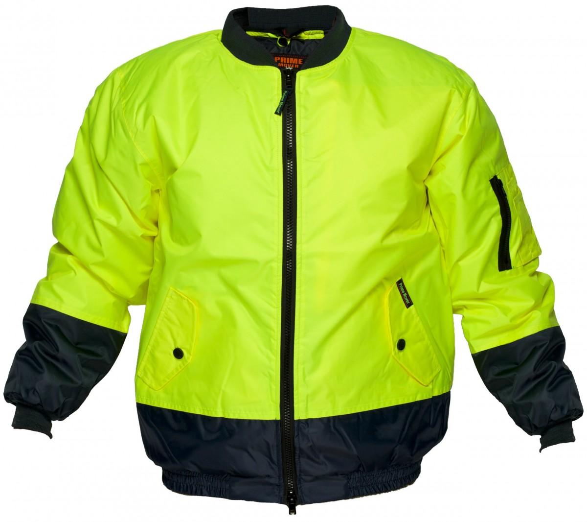 Hi Vis Bomber Jacket Jumpers Jackets Amp Vests Safety Wear