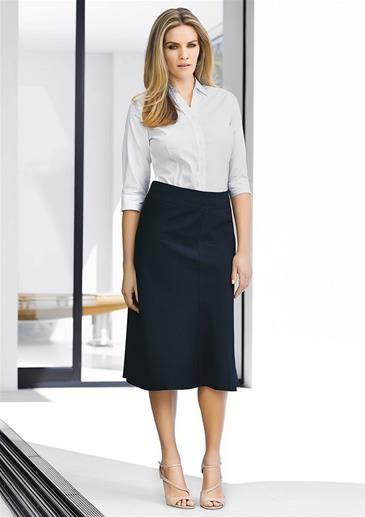 Ladies 3/4 length Fluted Skirt