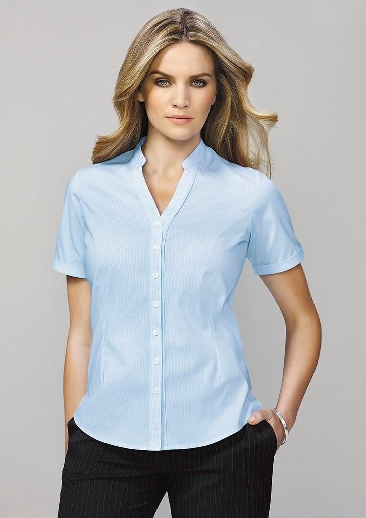 Bordeaux Ladies Short Sleeve Shirt