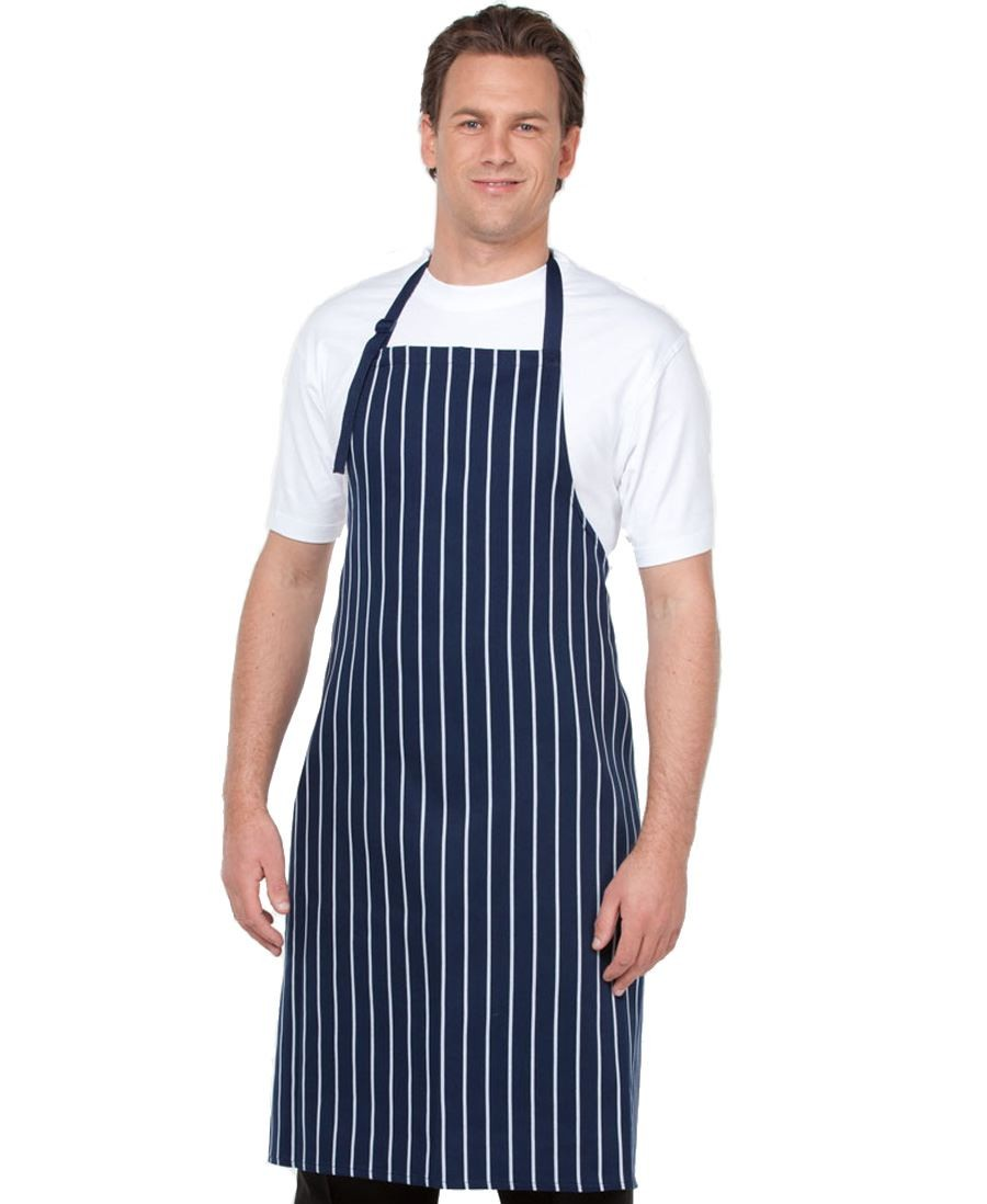 Bib Striped Without Pocket