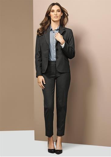 Short-Mid Length Comfort Wool Jacket