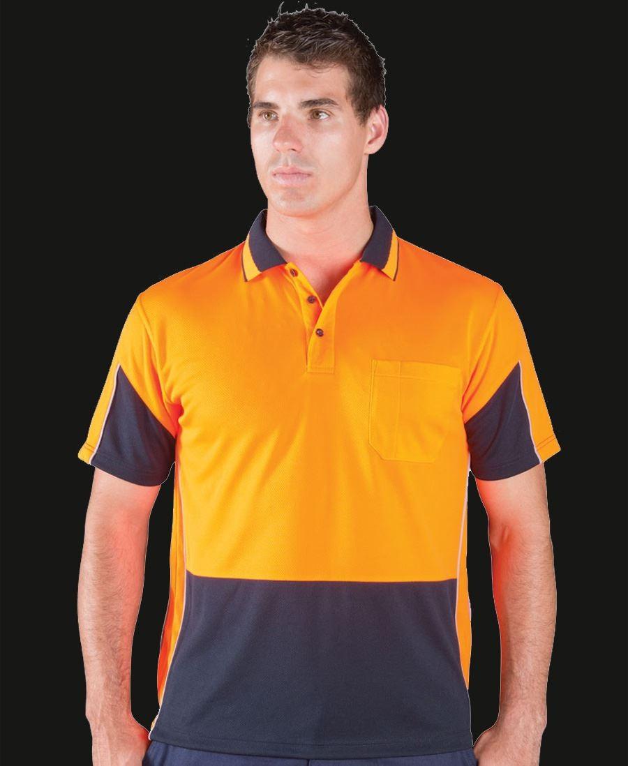 Hi Vis Short Sleeve Gap Polo
