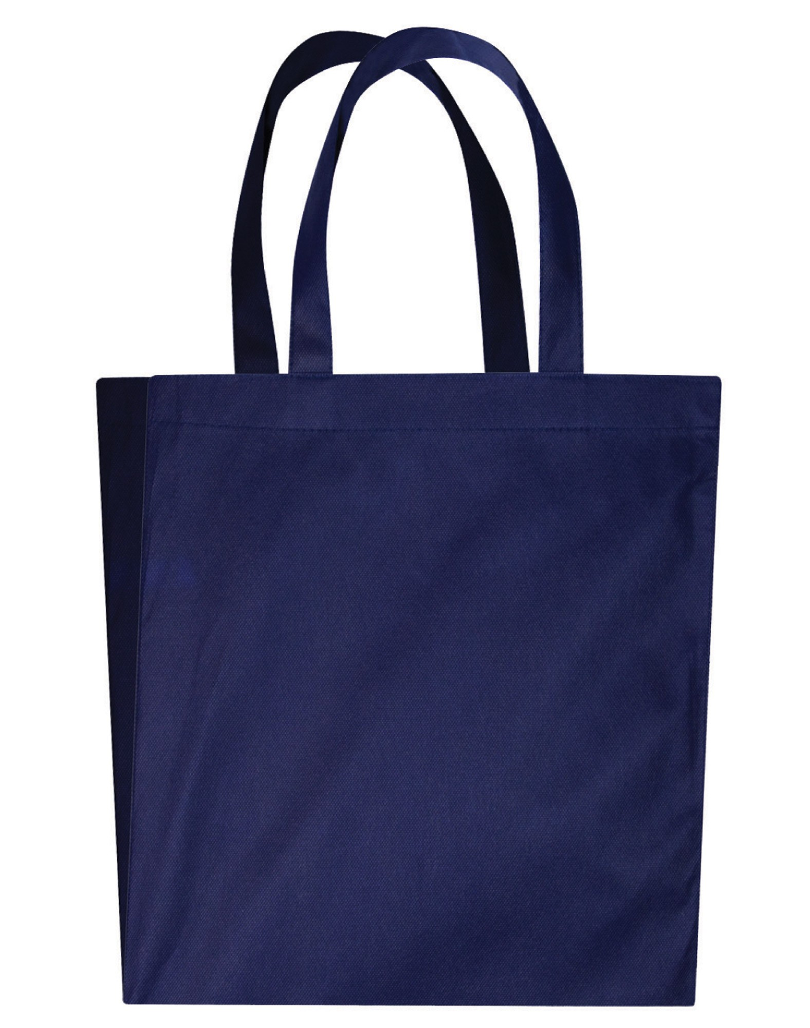 NON WOVEN BAG WITH V-SHAPED GUSSET