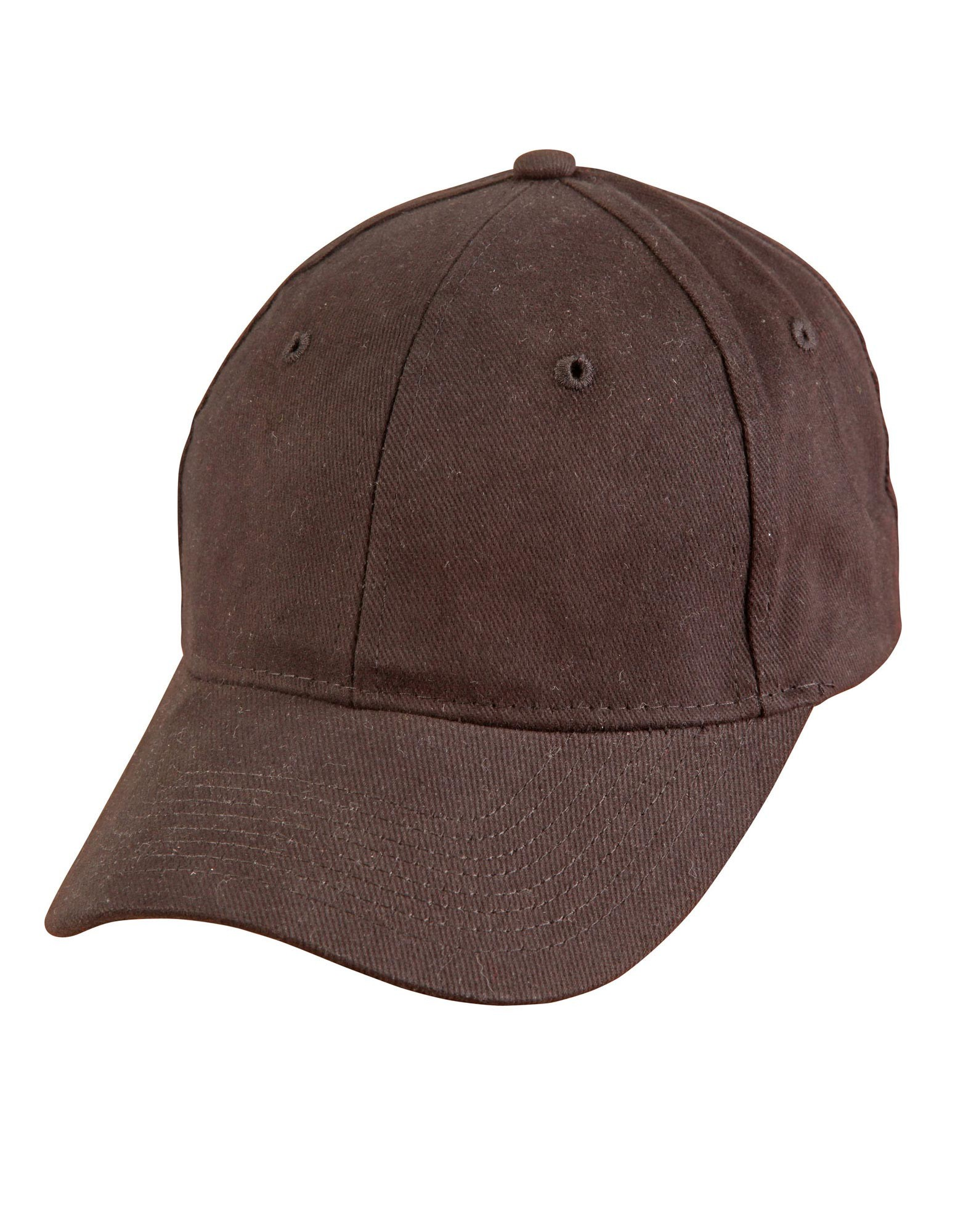 Heavy Brushed Cotton Cap With Buckle