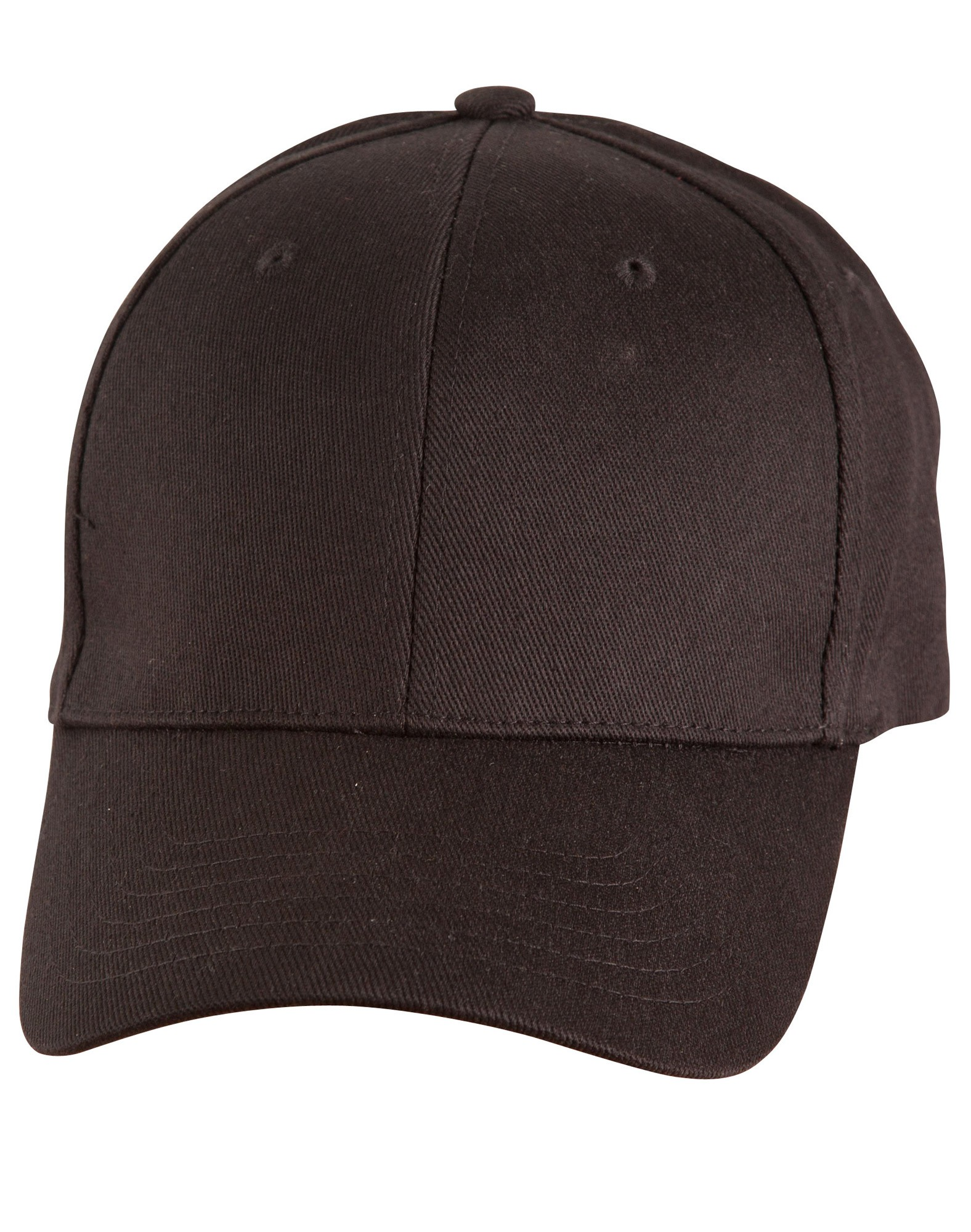 Heavy Unbrushed Cotton Flexi Fitted Cap
