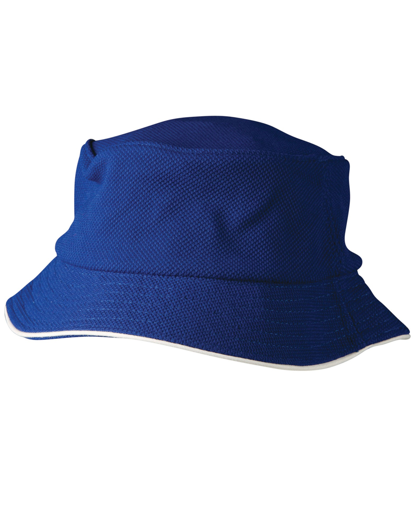 Pique Mesh With Sandwich Bucket Hat