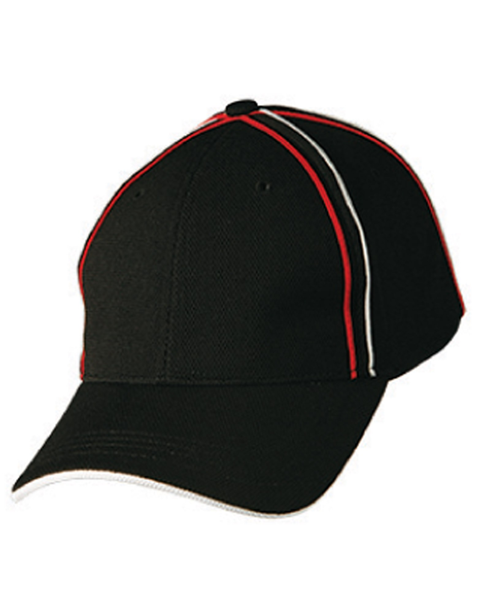 Tri_Colour Pique Mesh Cap