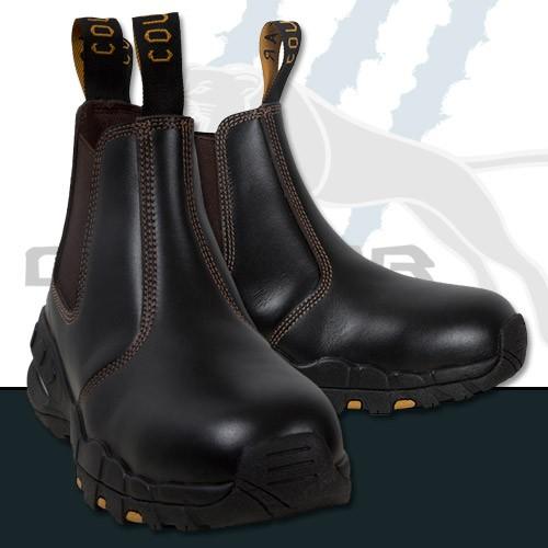 Full Grain Claret Leather - Chelsea Elastic Sided Boot
