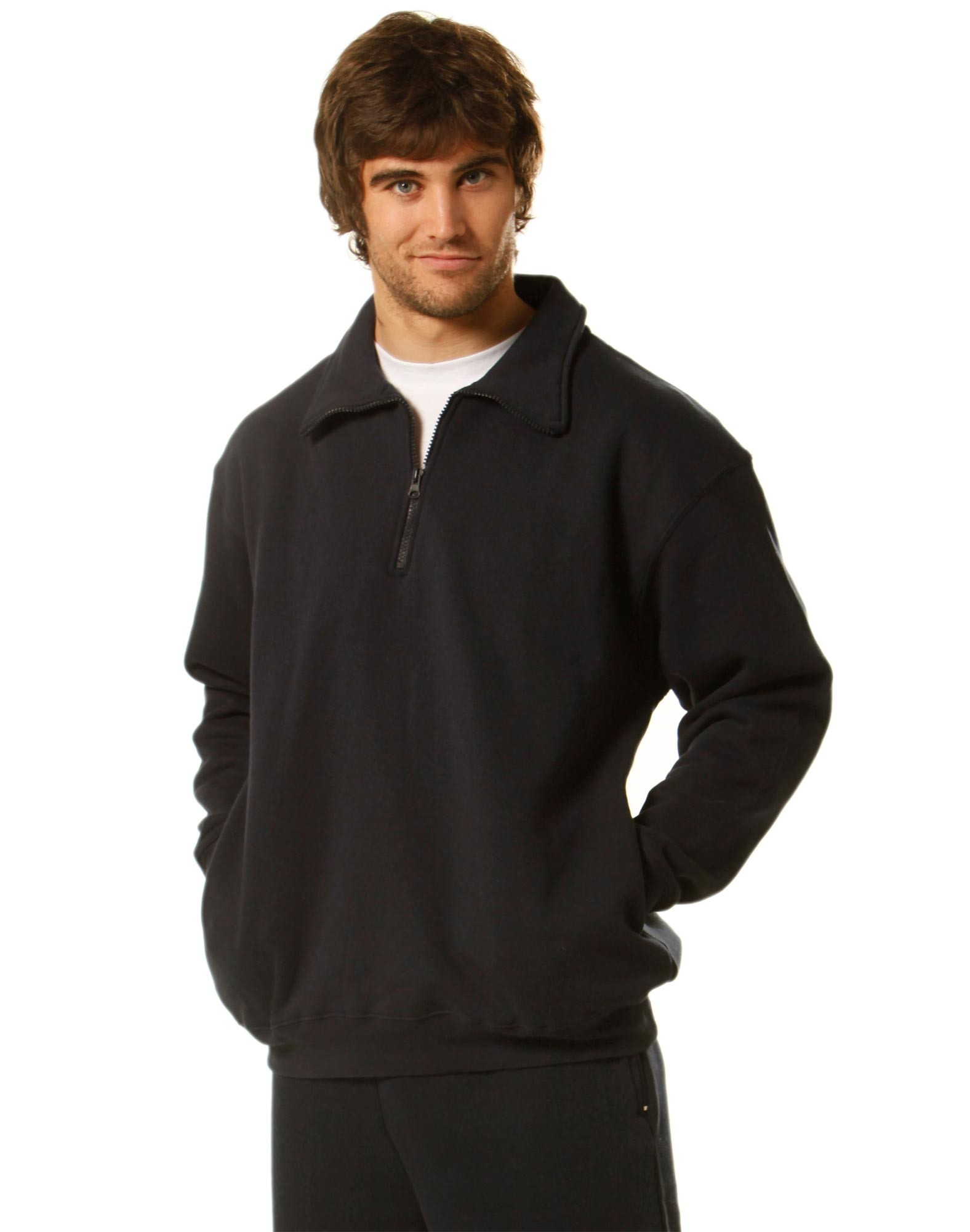 Falcon 1/2 Zip Fleecy Sweat