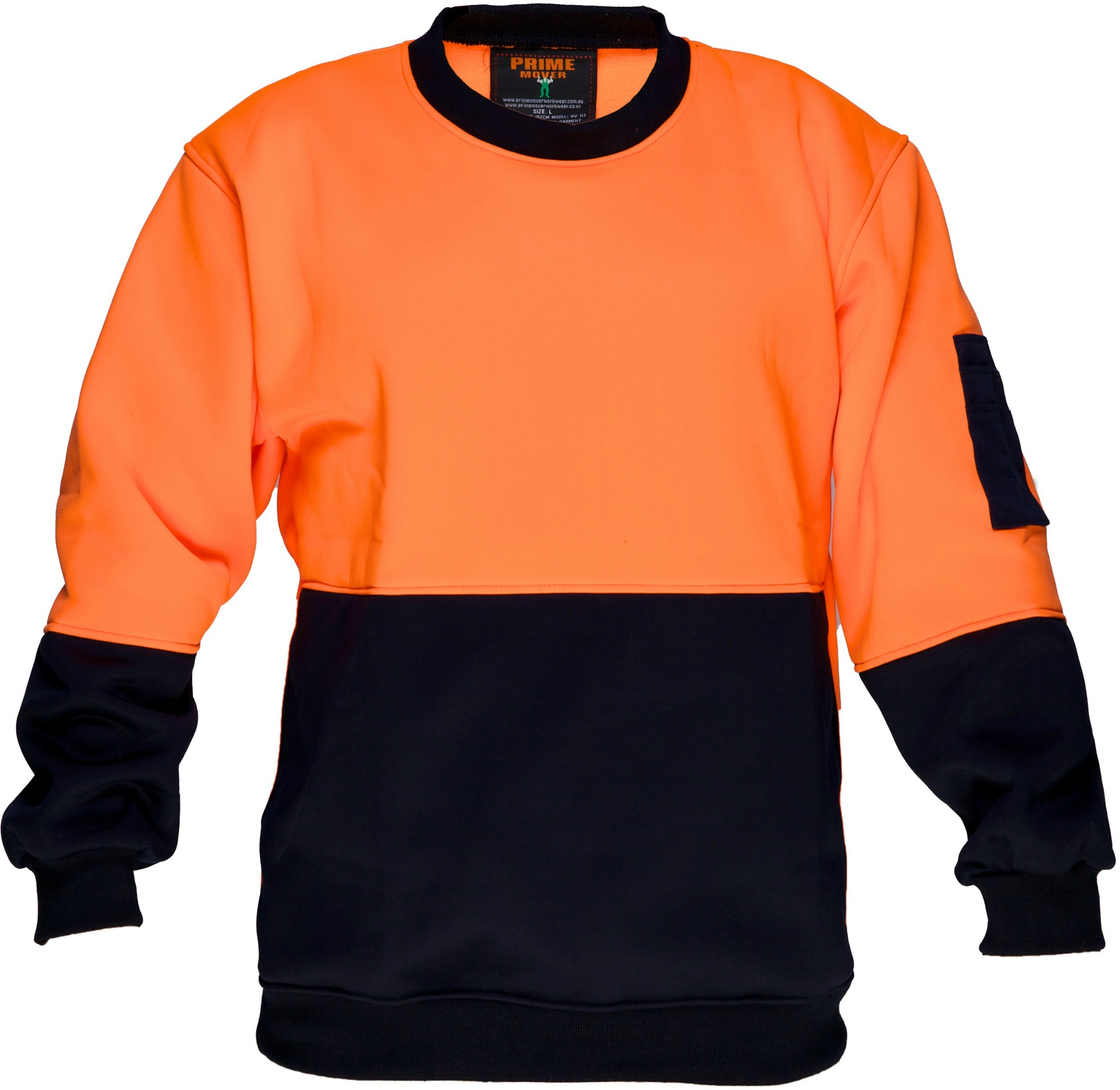 Crew Neck single brush fleecy jumper