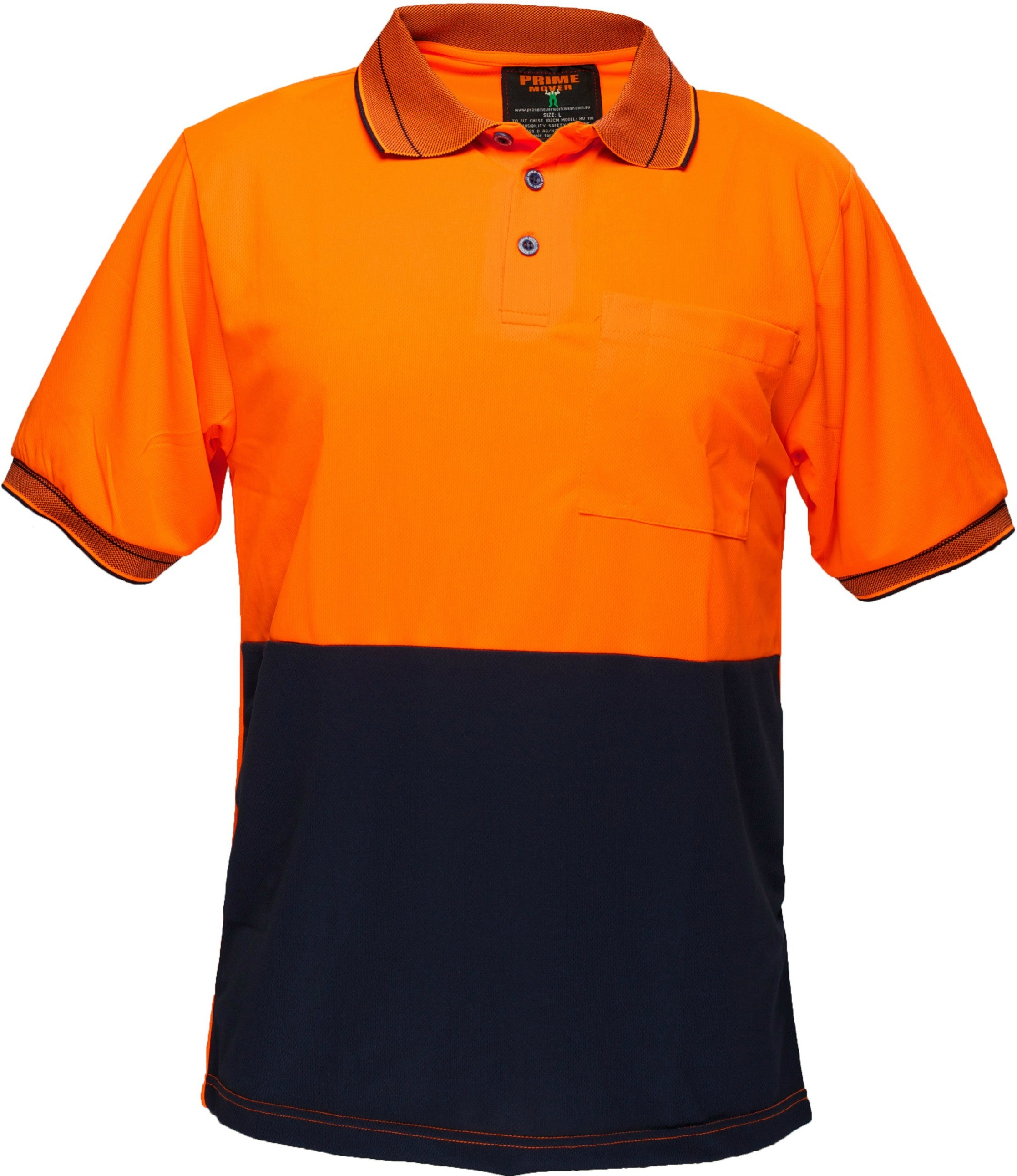 Short Sleeve Cotton Backed Polo