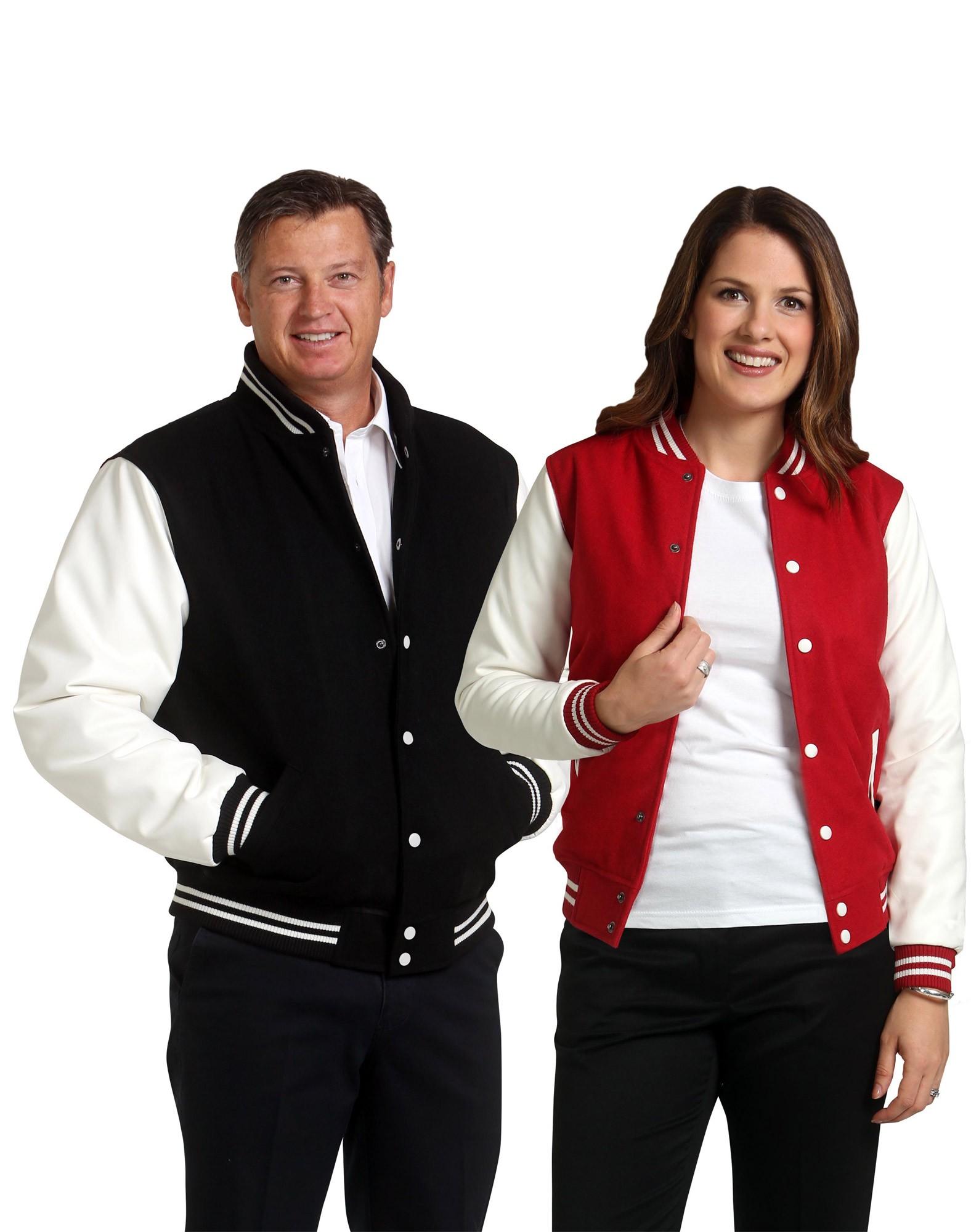 Adults Wool Blend Varsity Jacket