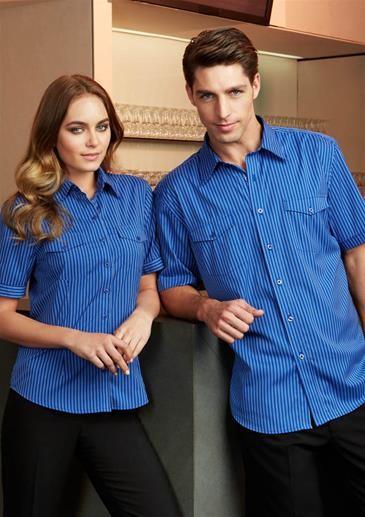 Mens Cuban Short Sleeve Shirt