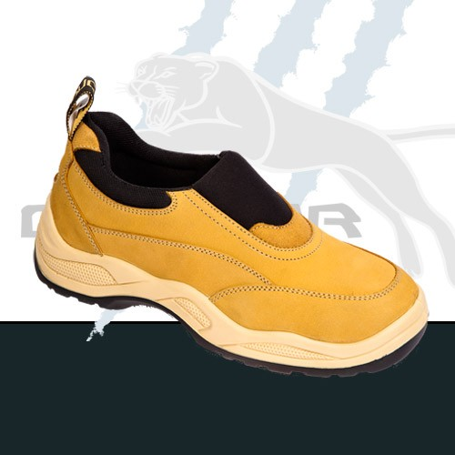 Wheat Nubuck Leather - Slip On Sports Shoe