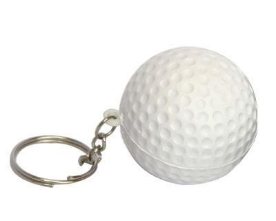 Golf Ball Keyring