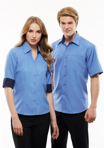 Mens Contrast Oasis Short Sleeve Shirt