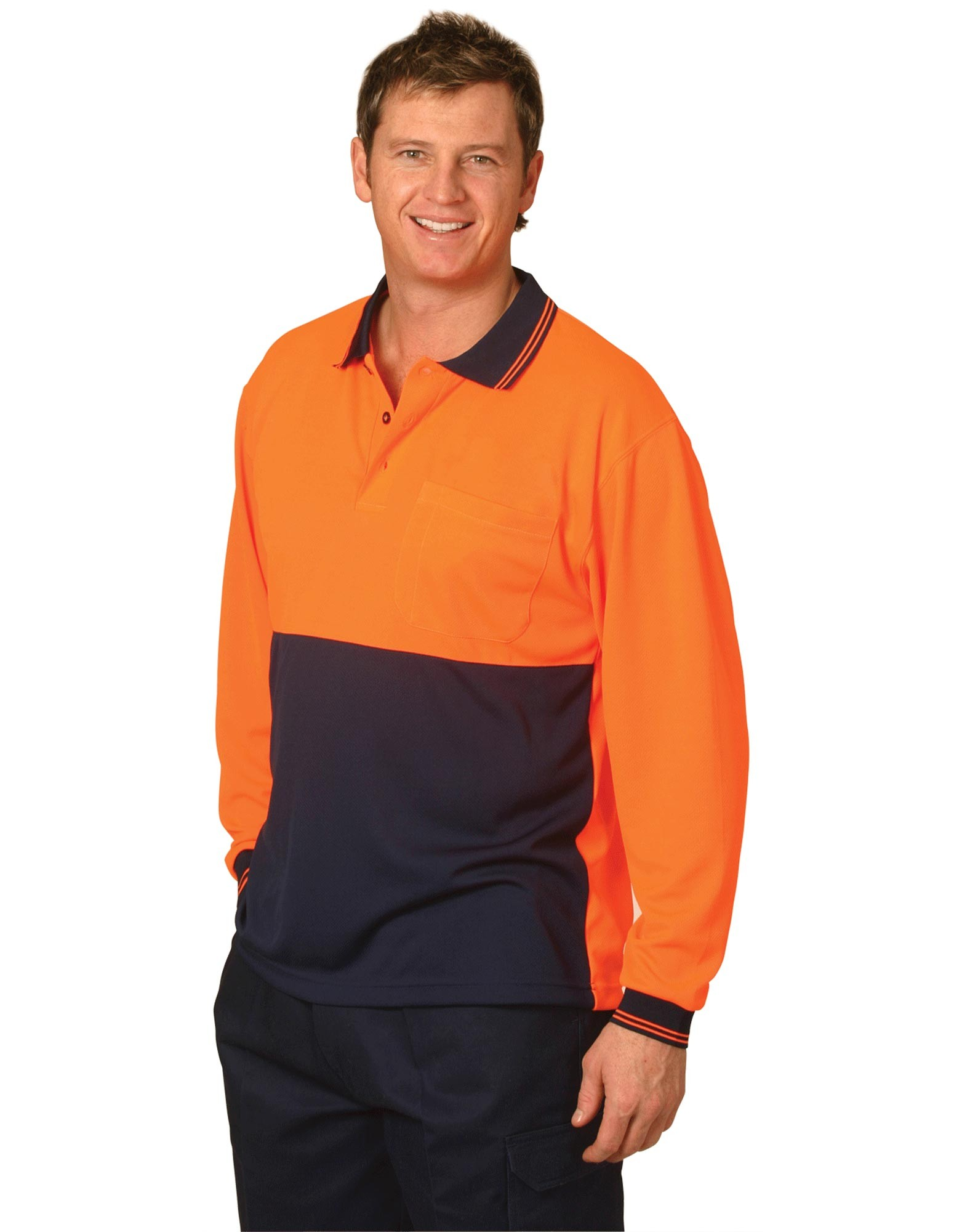 High Visibility CoolDry Long Sleeve