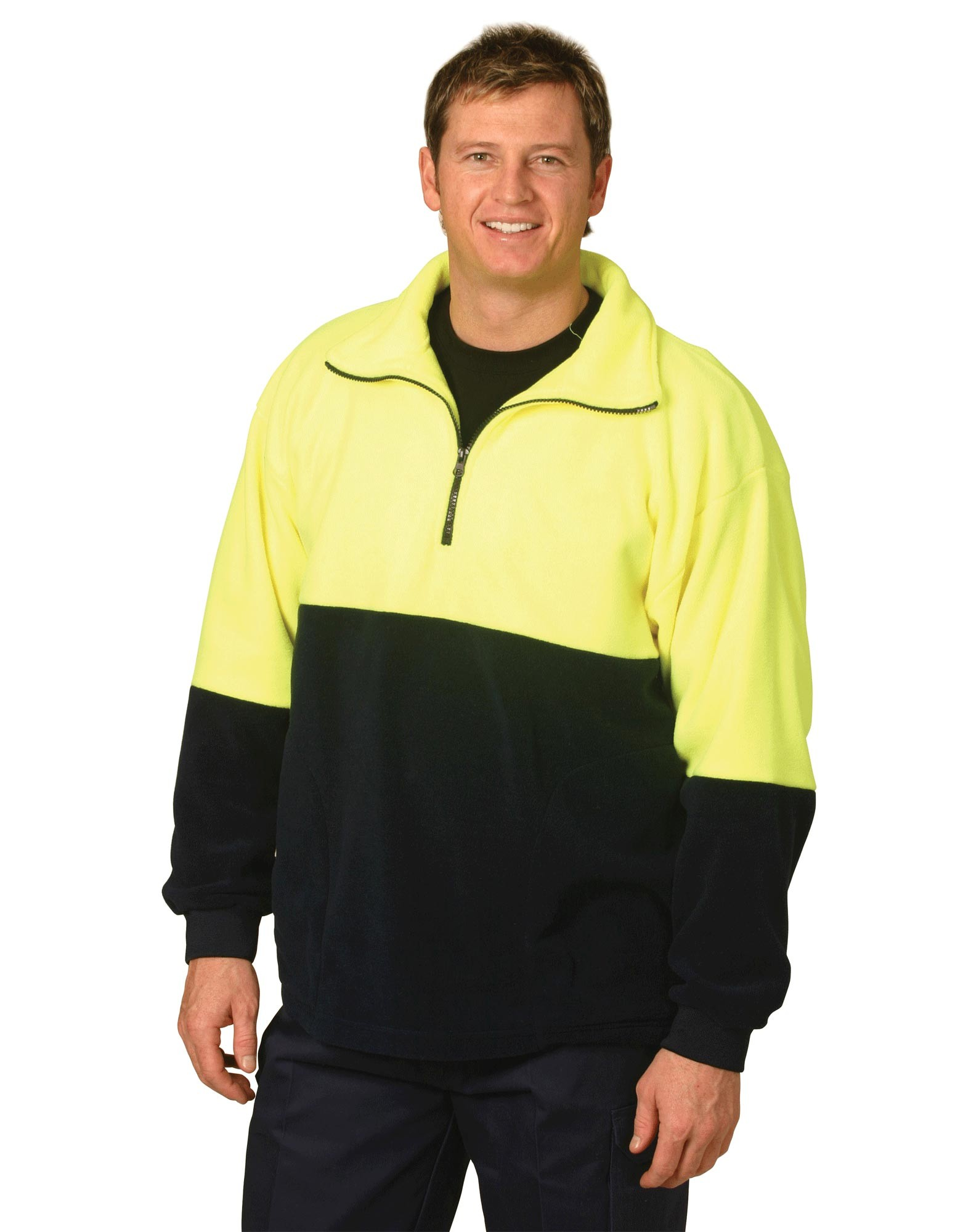 High Visibility Half Zip Pullover