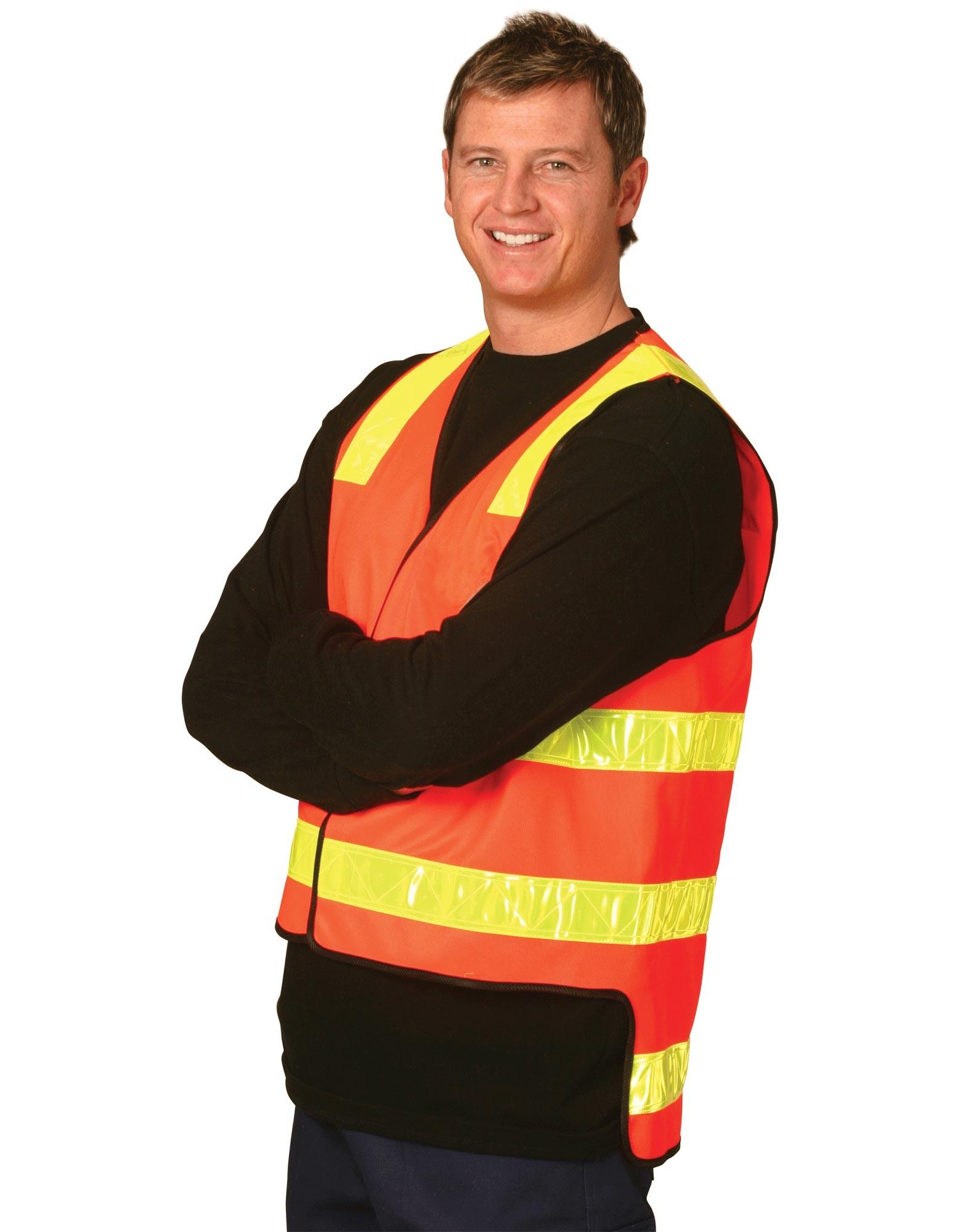 VIC Road Style Safety Vest