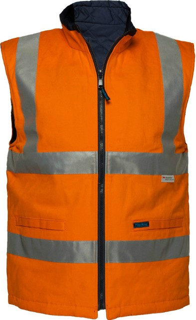 100% Cotton Reversible Vest