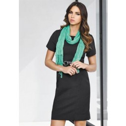 Ladies Short Sleeve Shift Dress