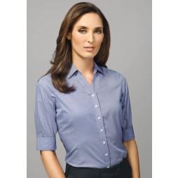 Hudson Ladies 3/4 Sleeve Shirt