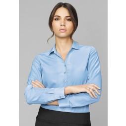 Solanda Ladies Plain Long Sleeve Shirt