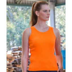 Ladies Hi Vis Training Singlet