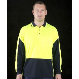 Hi Vis Long Sleeve Gap Polo