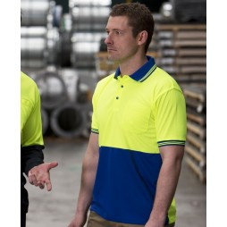 Hi Vis Short Sleeve Traditional Polo