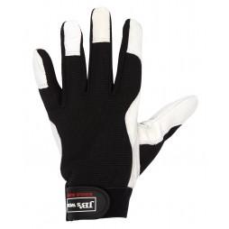 Stretch/leather Glove