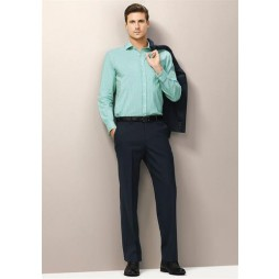 Flat Front Comfort Wool Pant
