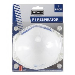 Blister (5pc) P1 Respirator