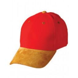 Suede Peak Cap