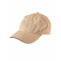Washed Polo Cotton Sandwich Cap