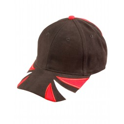 Tri Contrast Colour Cap