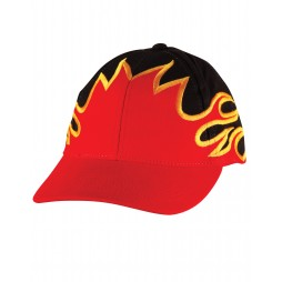 Heavy Brushed Cotton Flame Cap