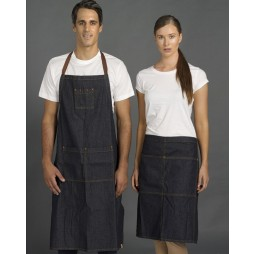 Denim Half Apron