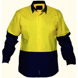 Food Industry Lightweight Cotton Backed Shirt
