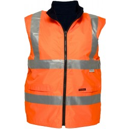 Fleecy Reversible Vest