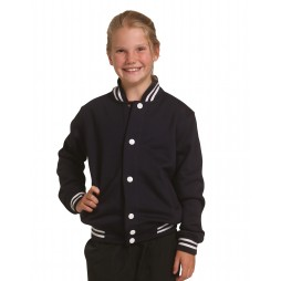 Kid's Fleece Varsity Jacket