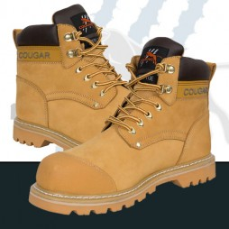 Wheat Nubuck Leather - Good Year Welt Lace Up Boot