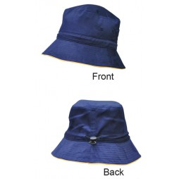Sandwich Bucket Hat With Toggle
