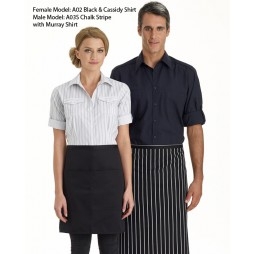 Half Apron With Pockets - 2 Colours