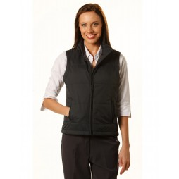 Ladies Nylon Rip-stop Padded Vest