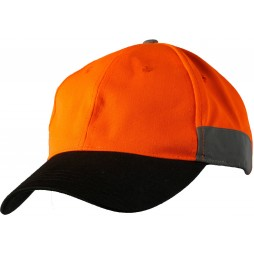 Hi Vis Cap With 3m Tape