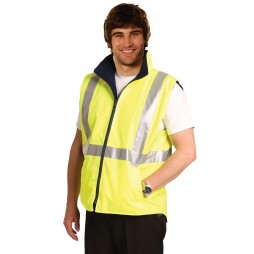 Hi-vis Reversible Safety Vest With 3m Tapes