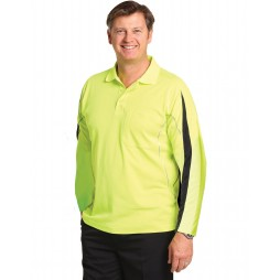 Long Sleeve Truedry Polo Shirt